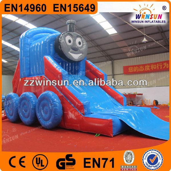 Customized new colourful inflatable water slide tube for sale
