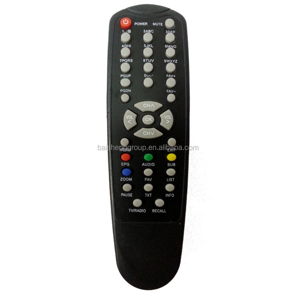 Good quality IR digital satellite receiver remote controlling for truman/Qmax/Astra