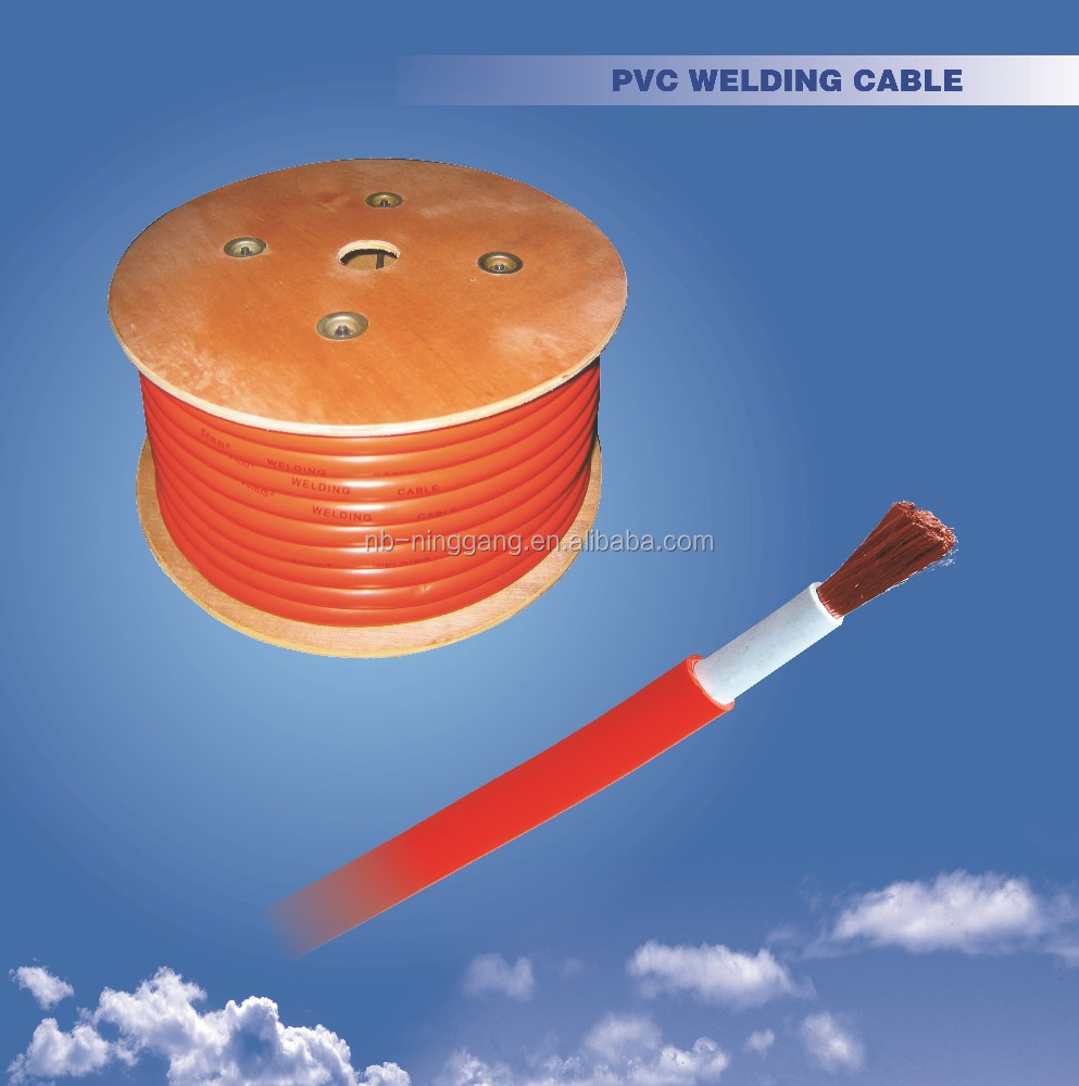 Australia standard CSP sheathed double insulation 35mm2 PVC welding cable