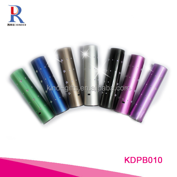Wholesale 2600mAh Portable Charger Lipstick External Battery Power Bank