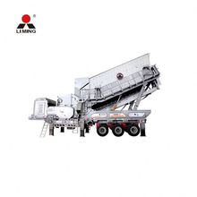 Competitive Price mobile impact crusher production line mobile crushing screening plant