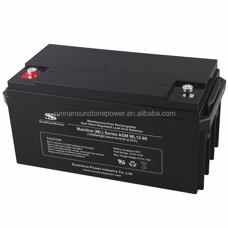 best price of lead acid battery 12v 60ah for solar panel system