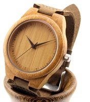 2016 digital wood wristwatch and eco-friendly bamboo japan movt quartz watch