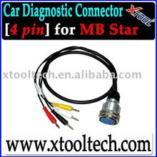 [Xtool] Professional Auto Diag Cable Set 4PIN Cable for MB Star in Stock