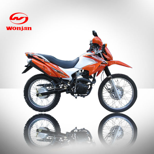Best selling 200cc green and black monster dirt bike (WJ200GY-III)