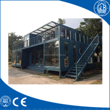 Green prefab container house living homes