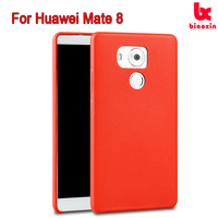 Unique Design Back PU Leather Protective Cover Case for Huawei Mate 8