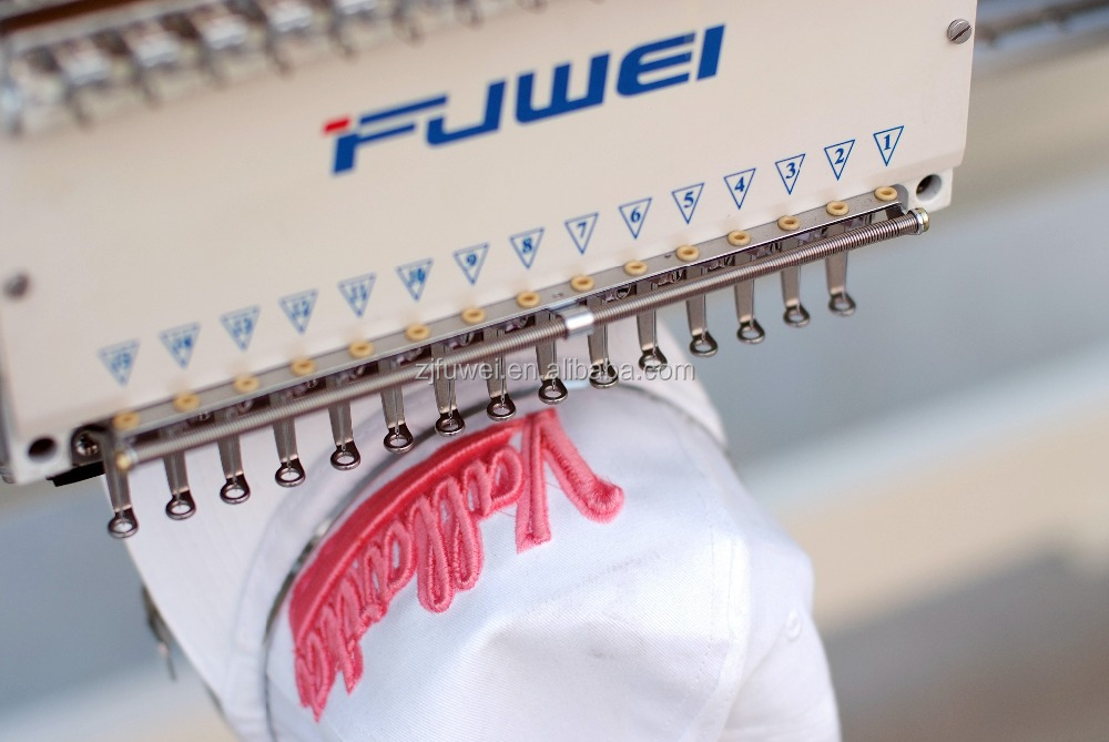 2017 FUWEI Two Heads High Speed Embroidery Machinery For Home /Industry /Commerce