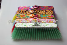 Colorful printed cleaning broom ZMB008