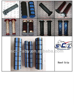 Motorcycle handle grip right throttle left clutch CNC handle grip