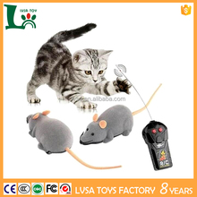 Hot Sales Remote Control Micro Mouse Cute Soft Plush Mini Dark Grey Mouse Toy