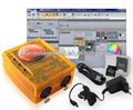 1536channels work under win7 and windowXP Sunlite DMX controller with Software