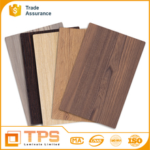 New design Wood grain melamine laminate wall panel