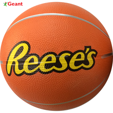 rubber basketball, orange, size 3#, logo customized, promotional, high quality material & printing