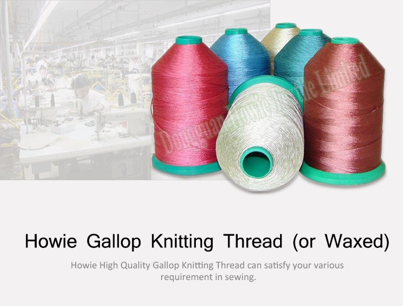 Manufacturer Polyester Nylon Braided Waxed Thread