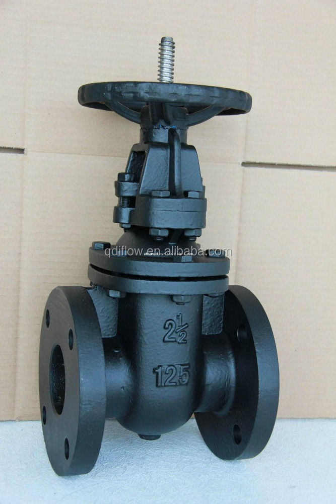 outside screw stem rising carbon steel gate valve Class 125