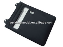 For laptop bottom case for hp Waterproof Bag Case Pack black tpu swimming bag with earphone