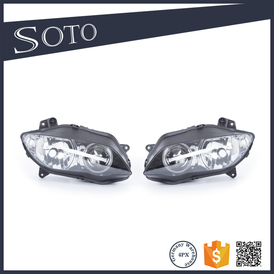 Motorcycle Clear Lens Headlight Headlamp Case For Yamaha YZF <strong>R1</strong> <strong>2004</strong> 2005 2006