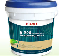 thermal protection water based polyurethane waterproofing coating
