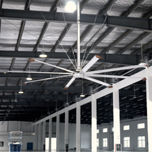 High Quality Low Power Brushless DC Motor Giant HVLS Ceiling Fan
