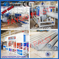 Used PVC Pipe Line Sale/pvc pipe manufacturing machinery plastic bottle making machine price