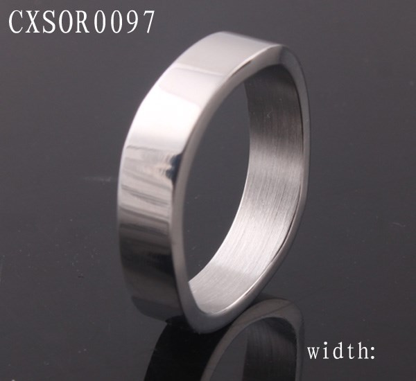 wholesale 316l stainless steel ring band