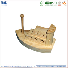 High quality handcraft sailing boat wooden model ship, wooden toy for children
