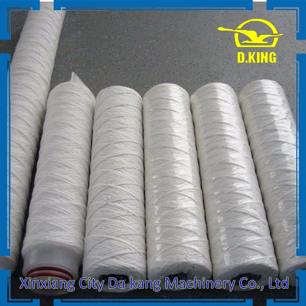 2017 D.King company water filter element string wound filter for water treatment on sale