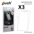 Fatory price PET Clear cell phone Screen Protector For HTC one X10