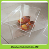 high clear plexiglass shoe box with cover durable clear acrylic shoe box transparent shoe box for kids