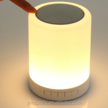 Free Sample Smart Induction LED Light V4.0 Portable Wireless Bluetooth Speaker Factory