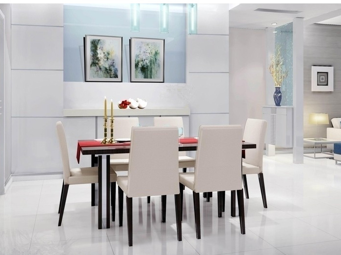 durable and strong upholstery dining room chair buy dining room cream high back upholstered dining room chair