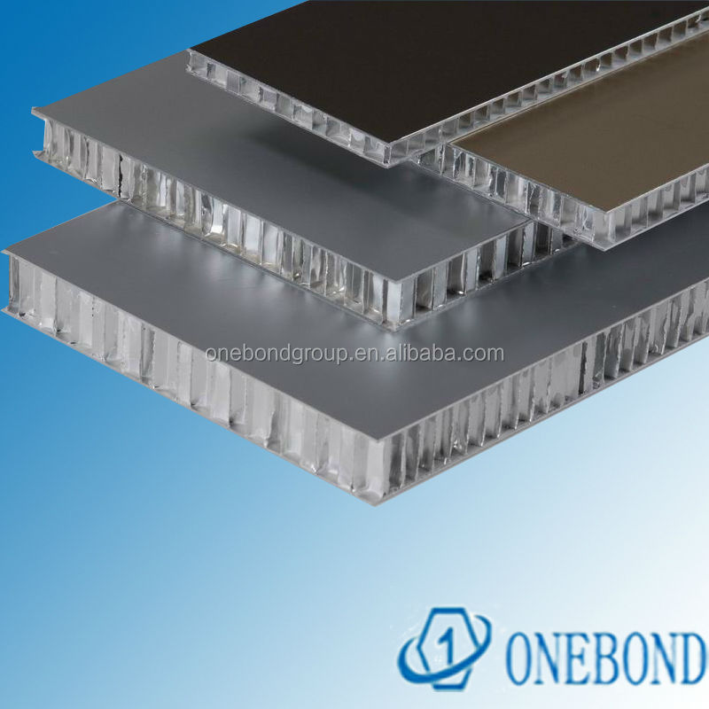 anodized finish aluminium honeycomb panel