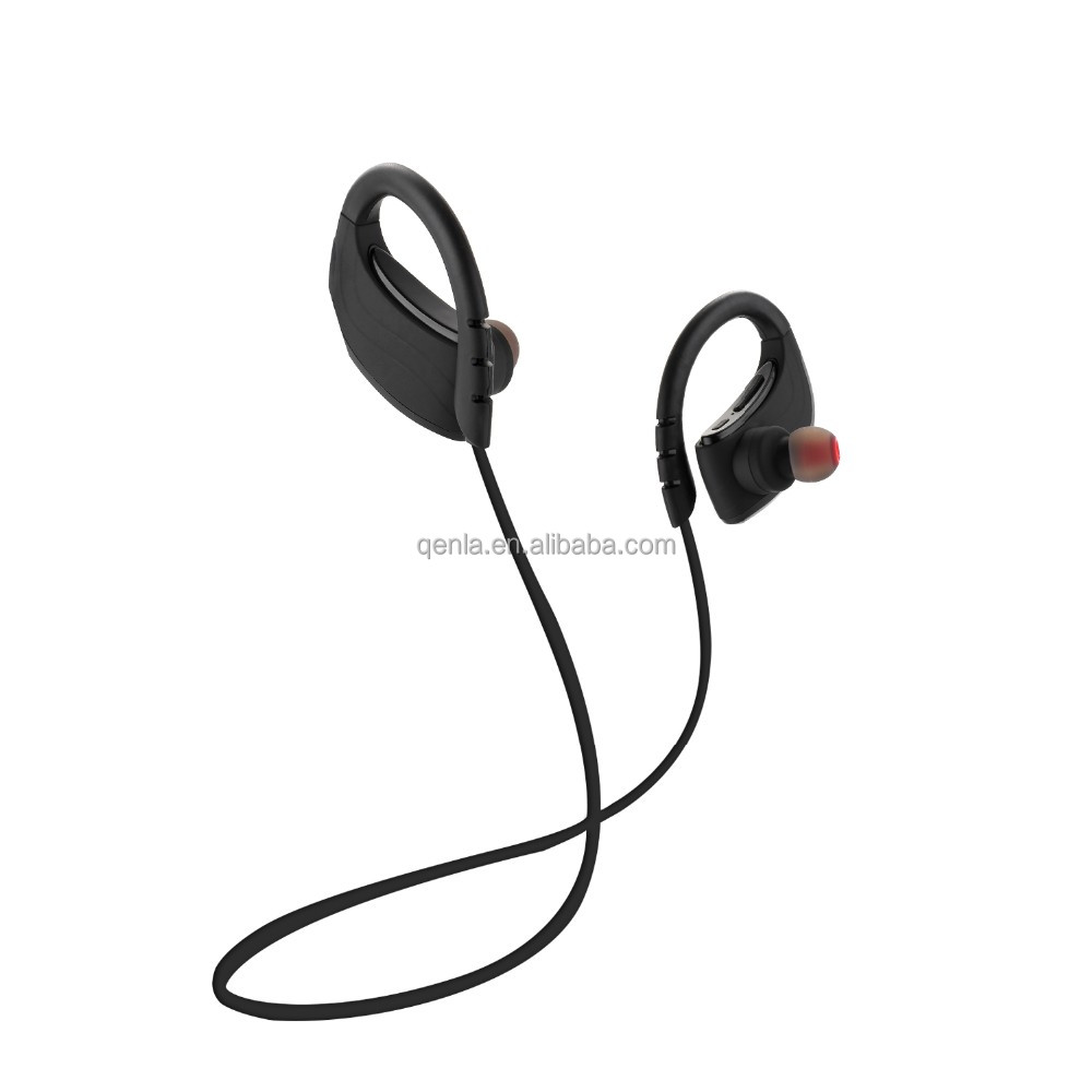 New developed IPX7 waterproof wireless Bluetooth earphones, best workout headphone, stereo headsets