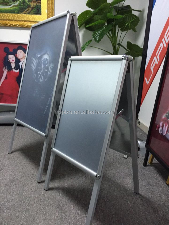 a board 27*40 durable sidewalk sign customized safety traffic sign board