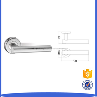AUTOBOTS Stainless Steel Lever Handle for Panic Door Access System