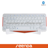 Ultrathin azerty Bluetooth Keyboard for iPad and Smart TV