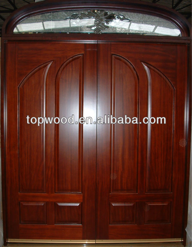 Mahogany/oak/walnut Solid Wood Main Door