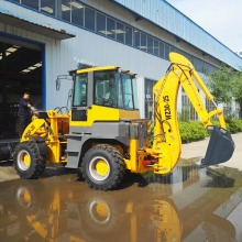 2017 compact wheel loader ,China mini tractor loader and backhoe excavator price
