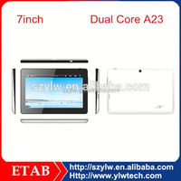 Cheapest 7 Inch A13 single core 800*480 screen 7inch q88 tablet pc