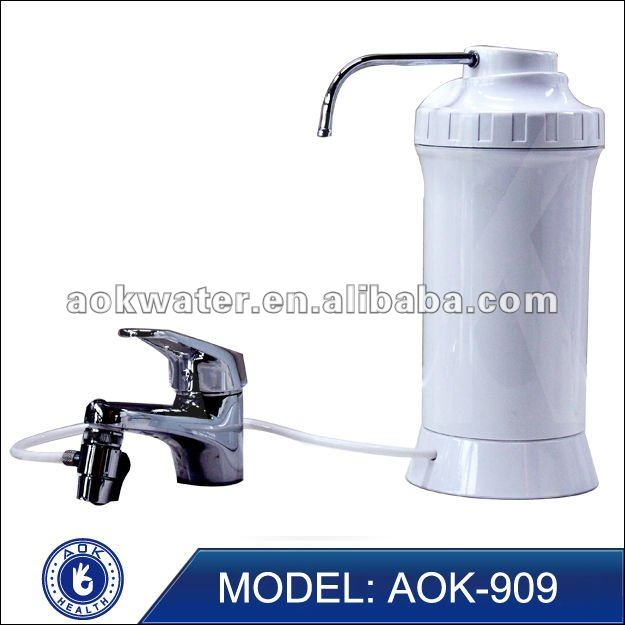 New wholesale drinking alkaline water filter with ceramic water filter candle