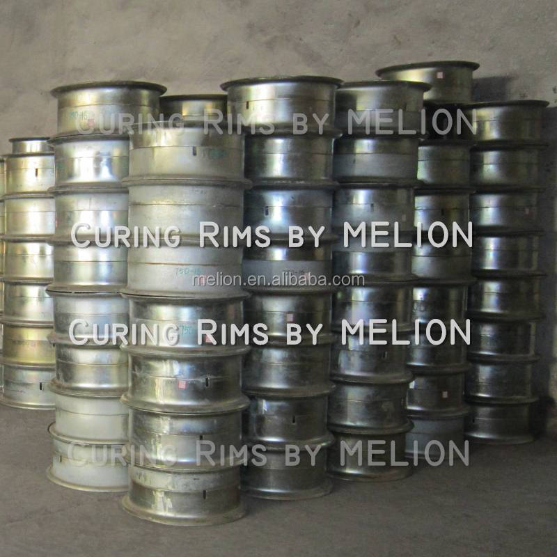 Tire retreading steel Curing Rim with flange
