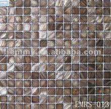 Dyed shell mosaic tiles mesh fresh water MOP shell pearl mosaic