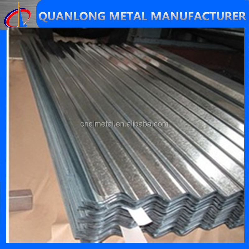 Zinc Coated Curved Steel Roofing Sheets