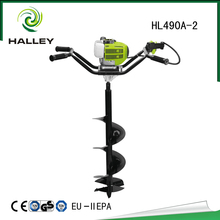 Portable heavy duty post hole digger