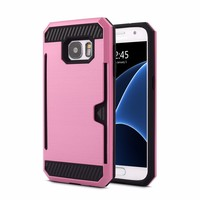 Supply anti-radition cell phone plastic cover case for samsung s7 edg