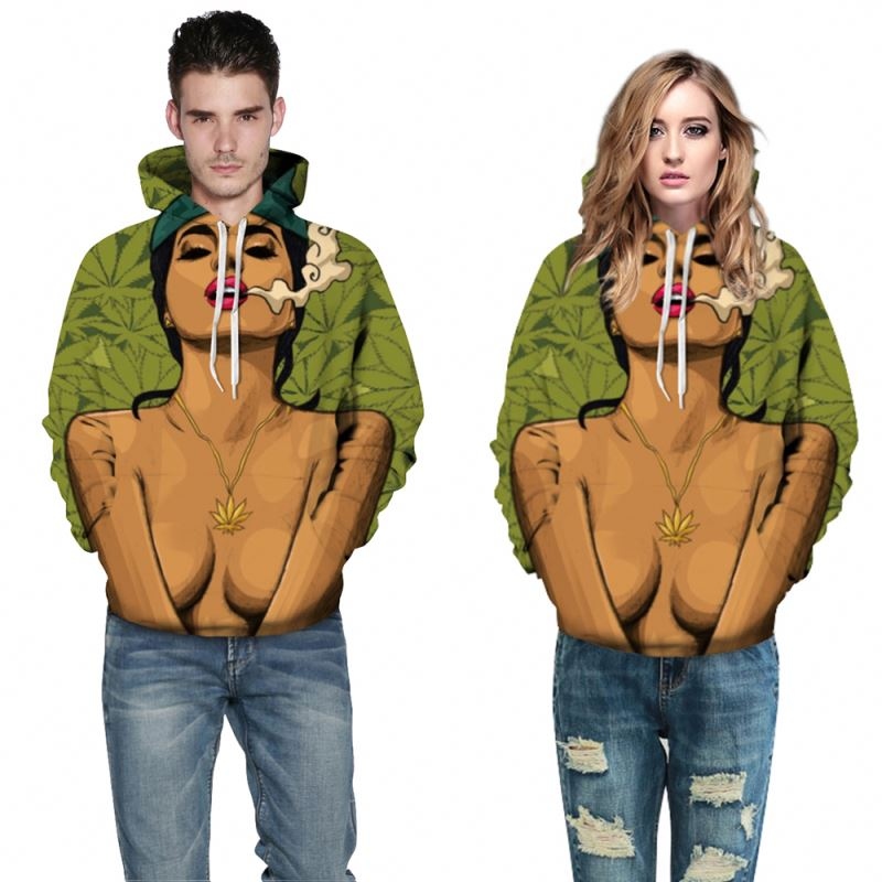 Fast delivery sublimated print wholesale blank pullover hoodies bulk hoodies