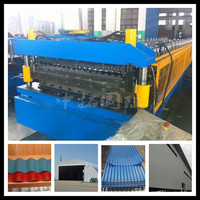 roofing corrugated panel galvanised sheets machines,steel roof panel rolls former