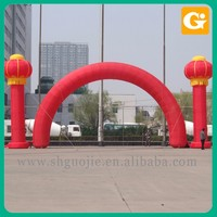 Celebrate christmas inflatable arch
