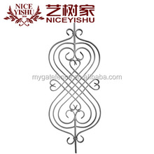 india antique metal luxury wrought iron gate parts/ modern used aluminum garden fence and gate ornaments